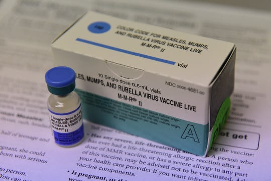 Measles, Mumps and Rubella vaccines are available at Richland County Public Health.