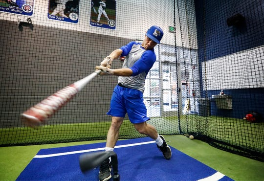 Memphis senior Colton Neel thrived this season as an outfielder and pitcher, leading the team in saves.