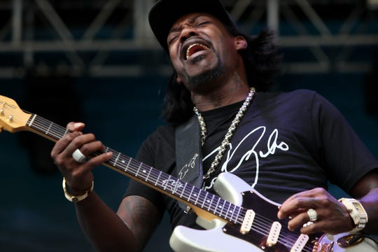 Eric Gales lands at The Junction at Monroe at 7:30  p.m. Sunday.