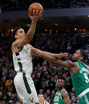 Malcolm Brogdon scored 10 points in his return in Game 5 against the Celtics after a layoff of nearly two months.
