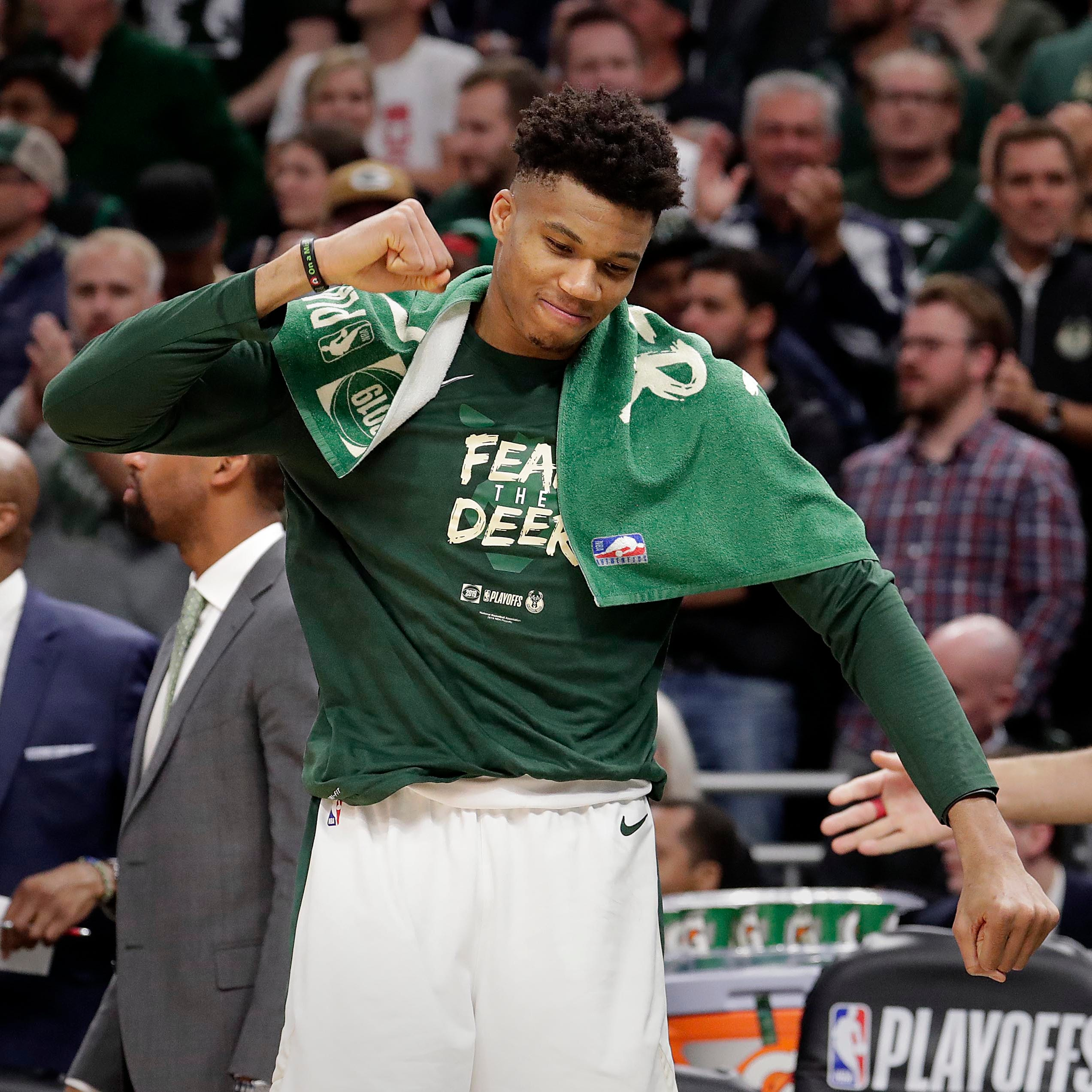 The Bucks' opponent in the conference finals is still to be determined, but the schedule is set