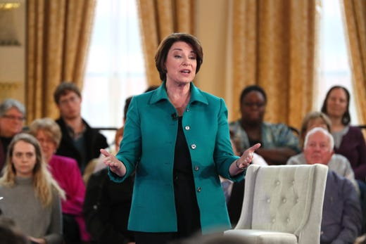 Amy Klobuchar Makes Her Pitch In Milwaukee At Fox News