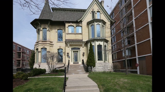 Many historic Prospect Avenue houses were later converted to commercial uses.  But one home — converted to offices — recently went back to its roots.