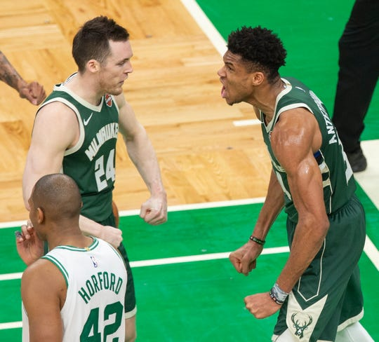 Milwaukee Bucks Vs. Boston Celtics Game 5