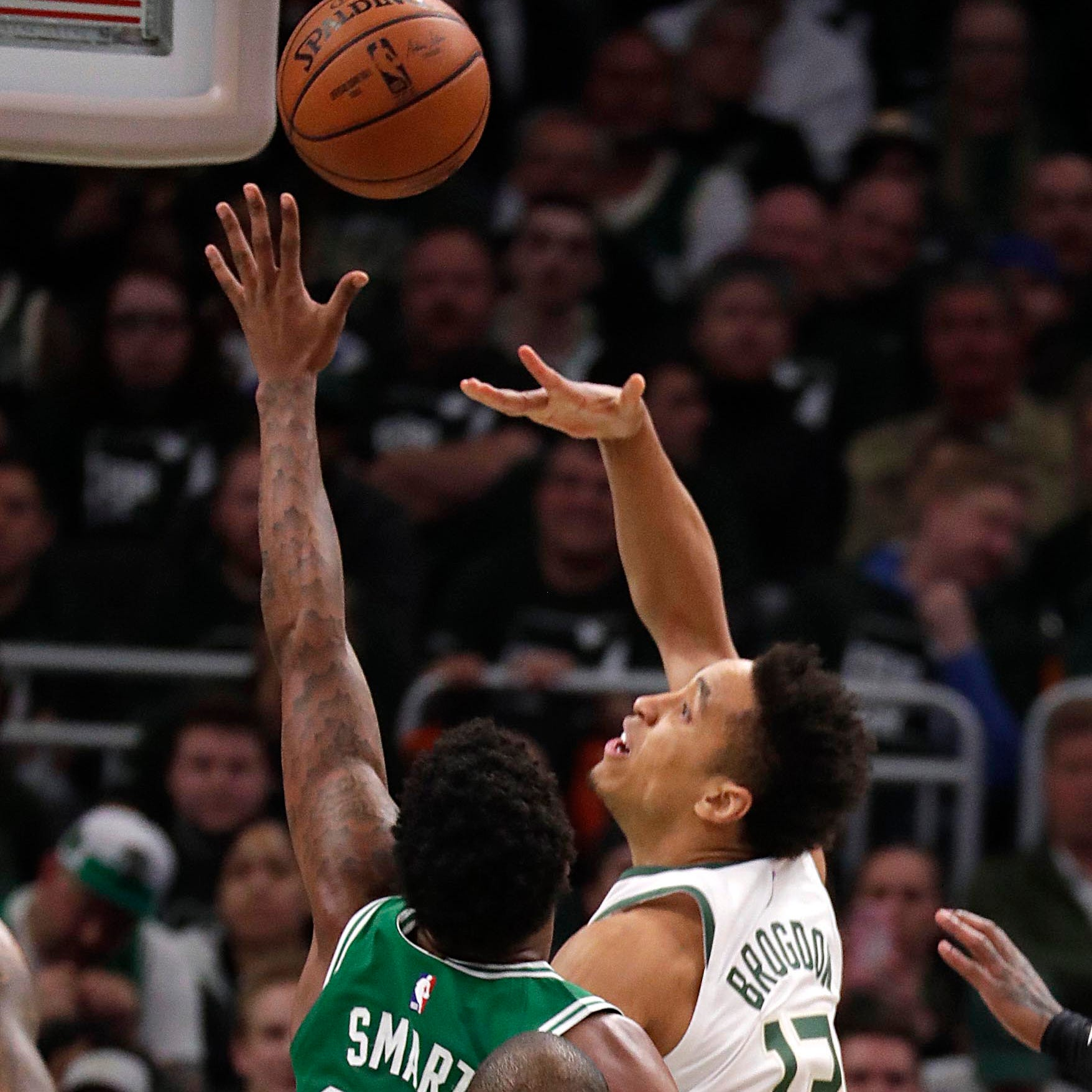 Malcolm Brogdon is back, with his usual shooting, defense and drives to the rim