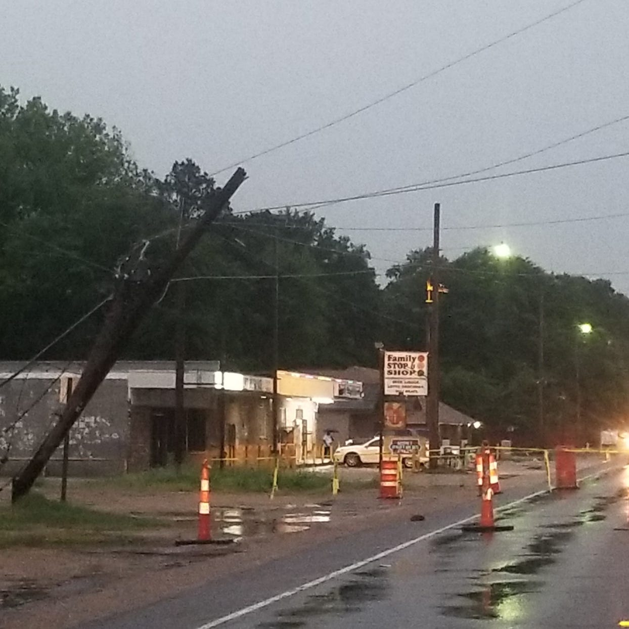 13,000 north Louisiana customers without power; Jackson Parish schools canceled