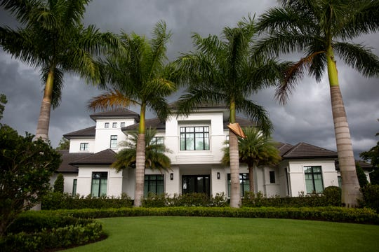 Vincent Borelli's home is pictured, Thursday, May 9, 2019 at the Estuary at Grey Oaks community in Naples. The 2-year old home was constructed by Borelli Construction of Naples.
