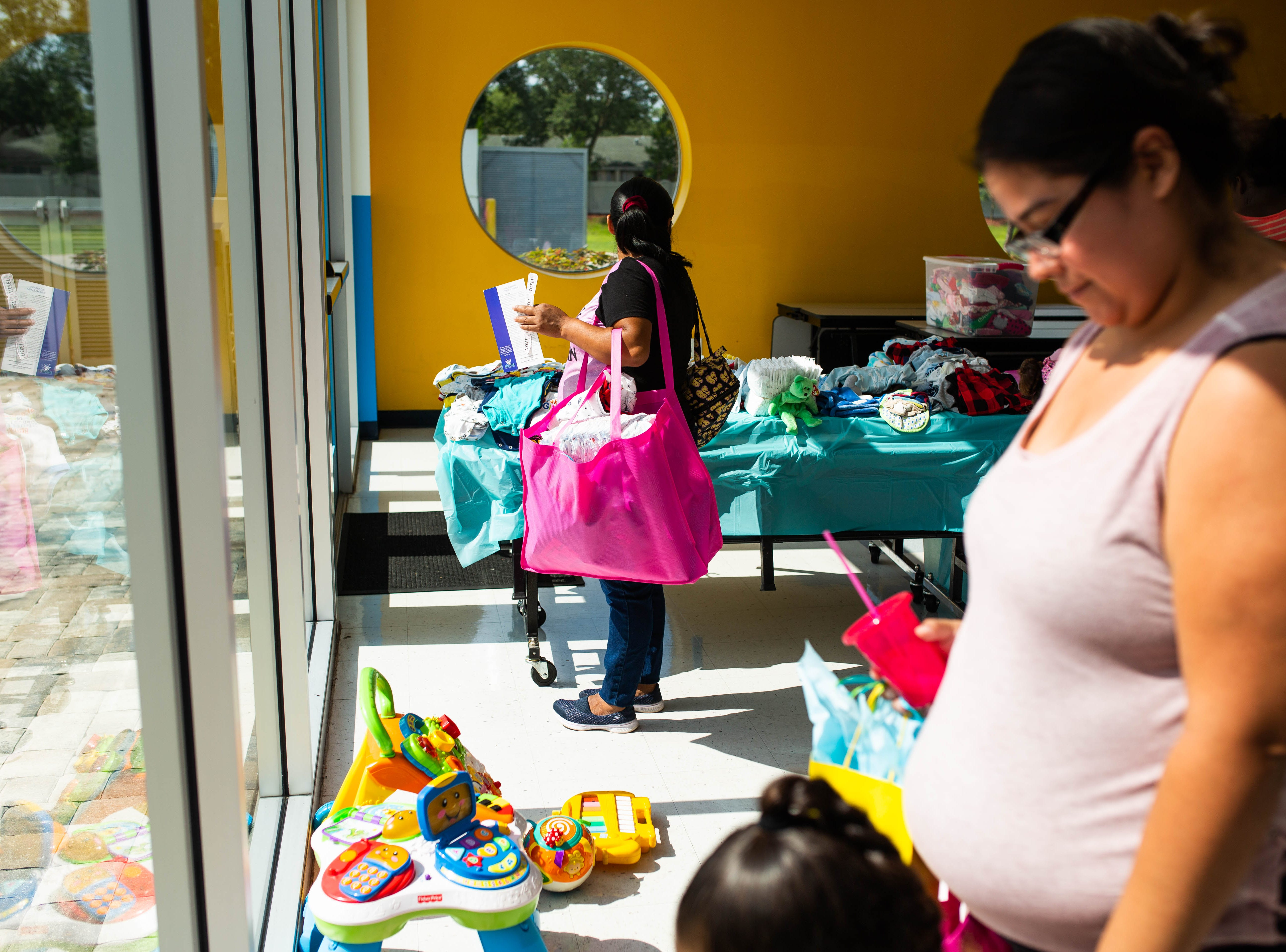 The fourth annual Immokalee Community Baby Shower was held at the Boys & Girls Club in Immokalee on Thursday, May 9, 2019. The event allowed pregnant women in the community access to many resources regarding prenatal and postnatal care, including donated clothing and toys.
