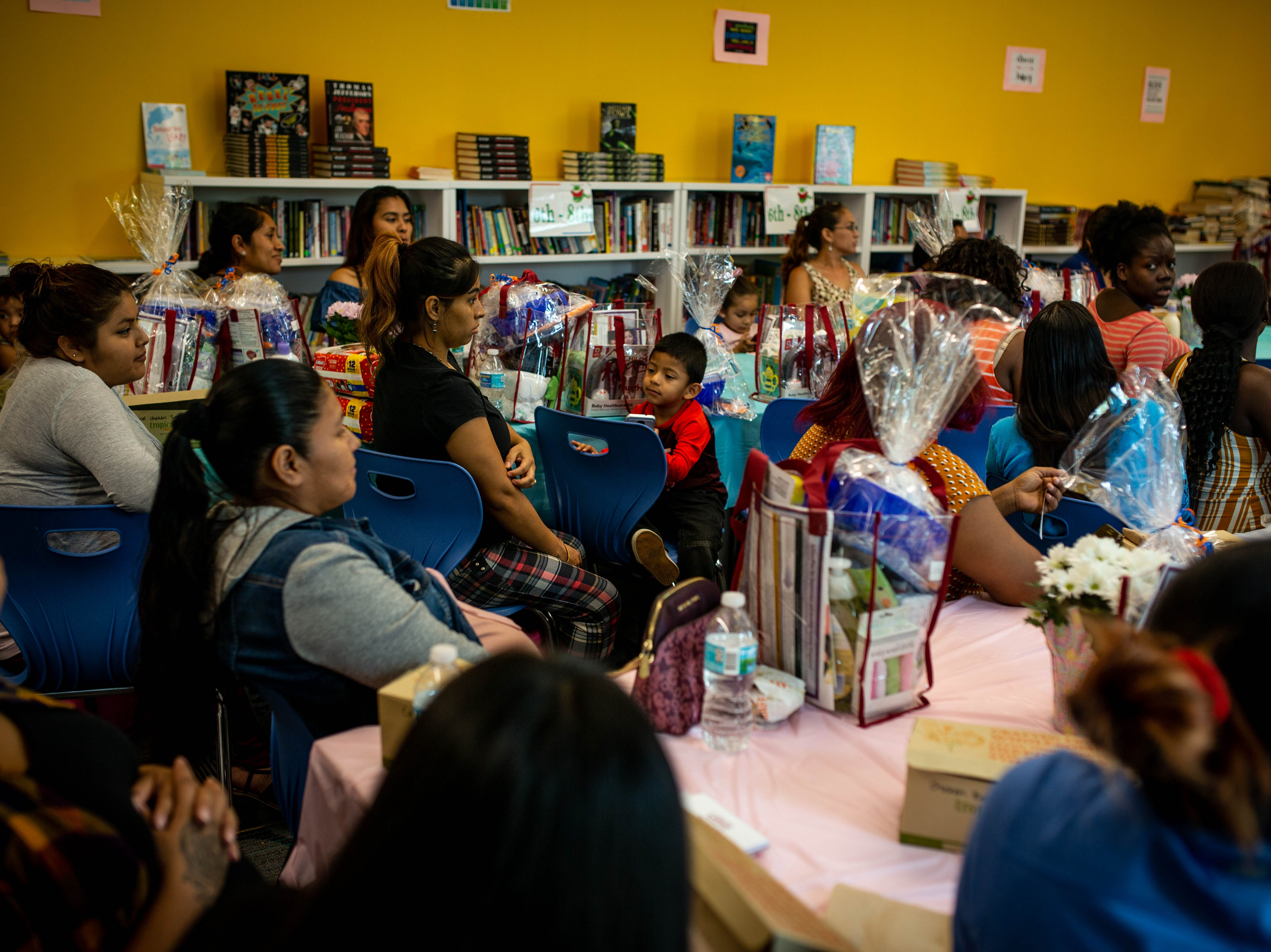 The fourth annual Immokalee Community Baby Shower was held at the Boys & Girls Club in Immokalee on Thursday, May 9, 2019. During the event, many speakers presented information regarding prenatal and postnatal care.