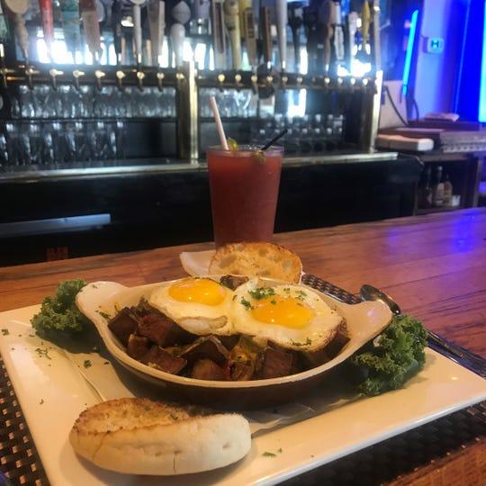 Skillet breakfast at Glen Rock Inn
