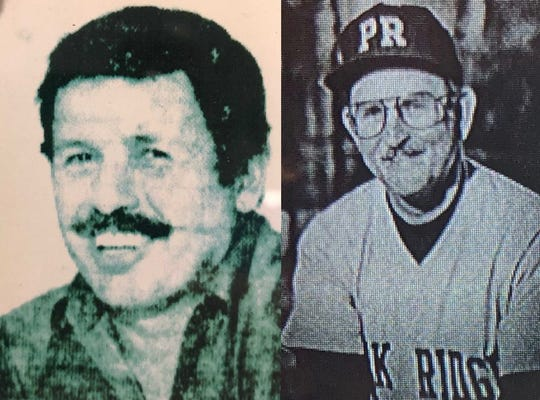 Bob Kolb (left) and Frank Daniel coached the Park Ridge High School baseball team together for the better part of two decades, leading the Owls to more than 300 wins