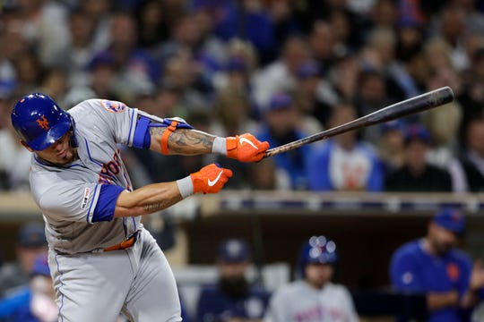 The New York Mets' Wilson Ramos typically is a productive hitter but the catcher came into Wednesday's game against the Padres in an 0-for-13 slump.He did not play in the series finale of a three game set in San Diego.