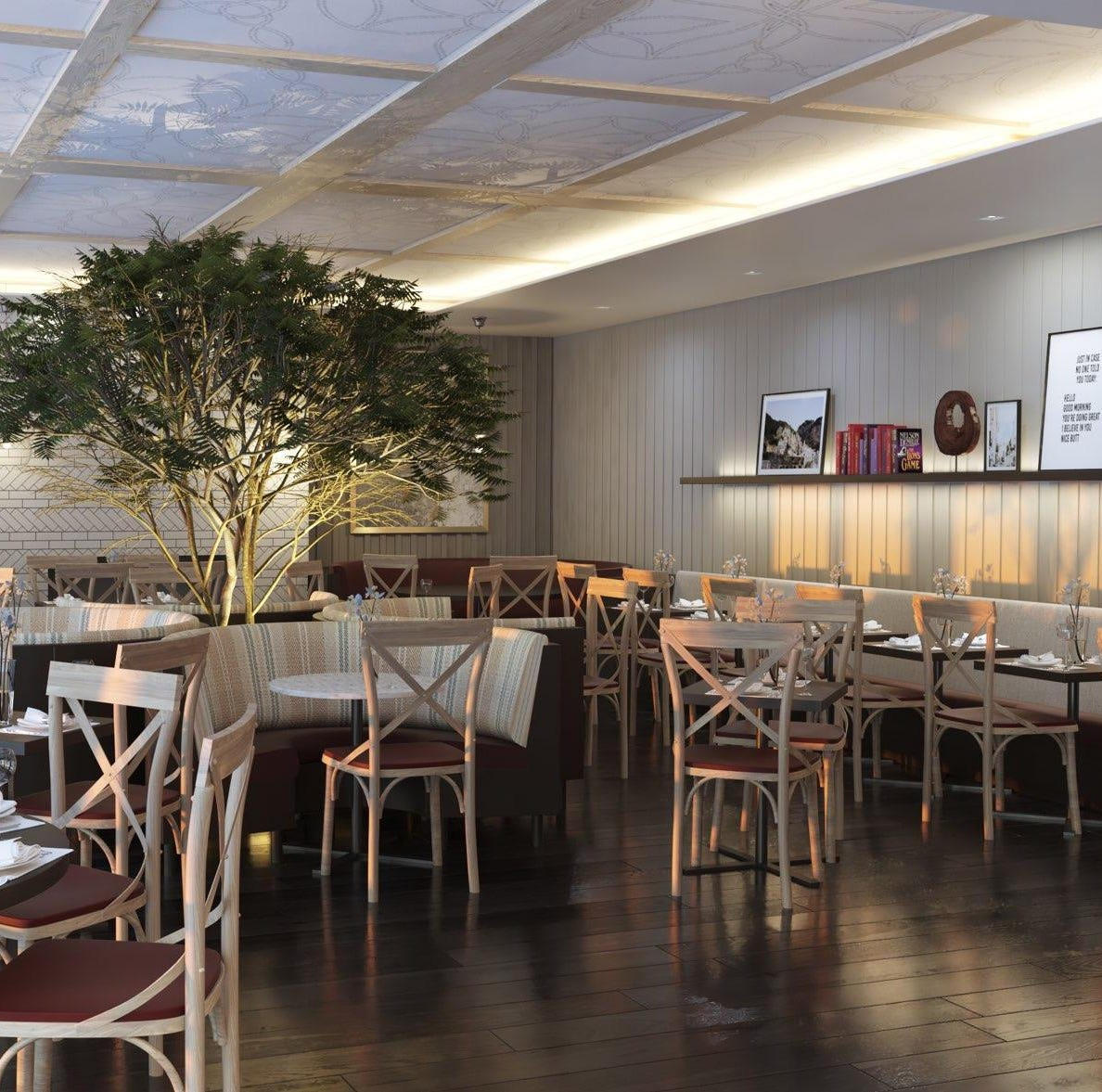 De Novo to open in Edgewater at the end of May, replacing Le Jardin