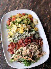 A hearty cobb salad for brunch at Central & Main in Madison