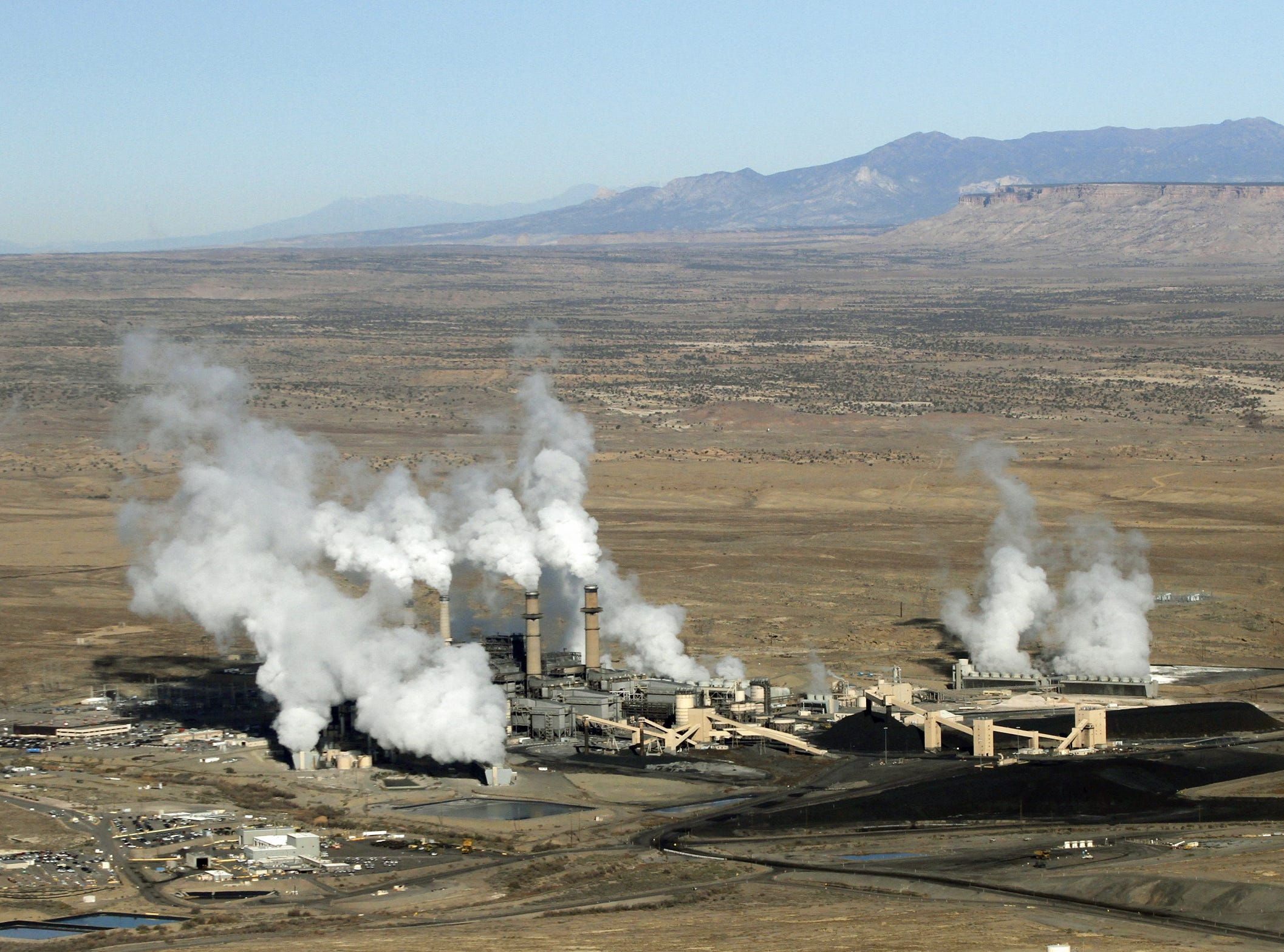 The San Juan Generating Station is seen on Nov. 6, 2013, in Waterflow.