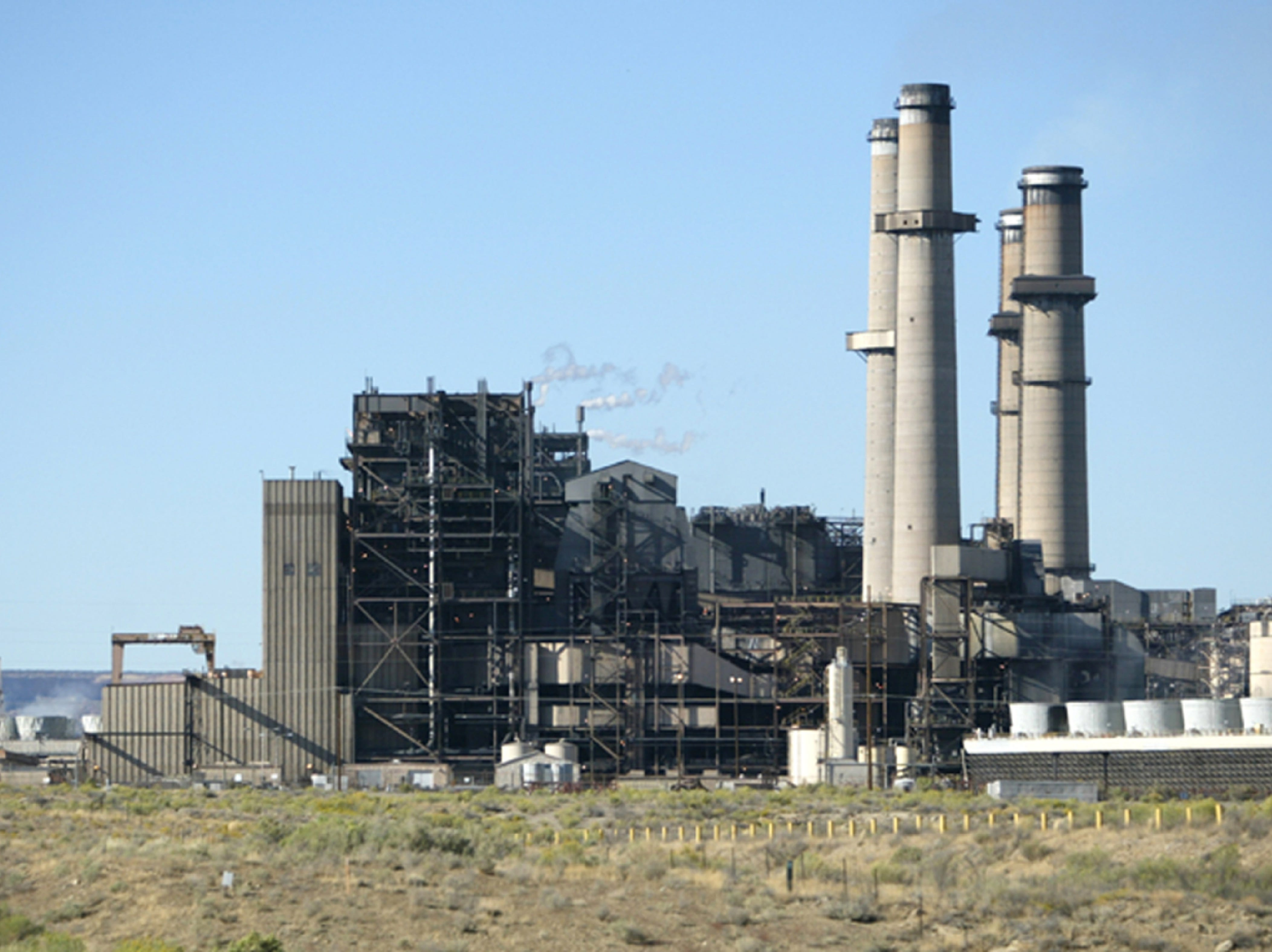 The San Juan Generating Station is pictured in 2005 in Waterflow.