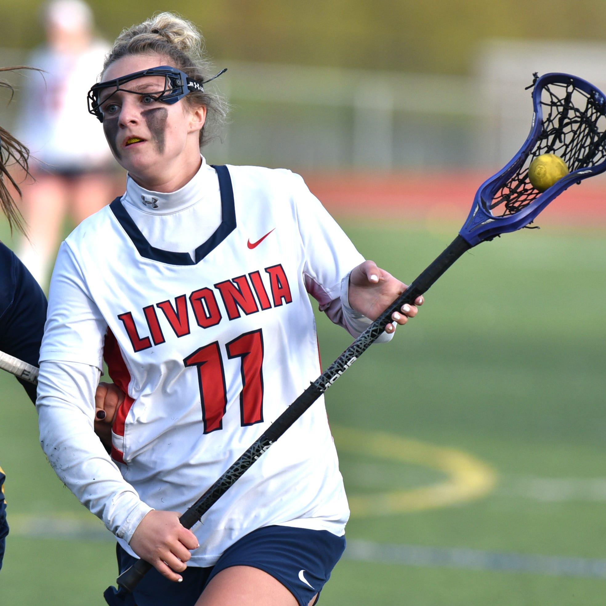 Hartland girls lacrosse dominates Livonia to win KLAA championship