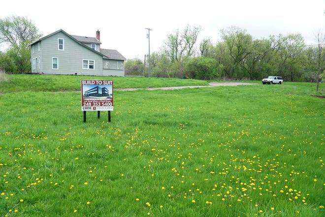 A proposed office-commercial development site lies on Twelve Mile Road in Novi between West Park and Taft Road - on the south side.