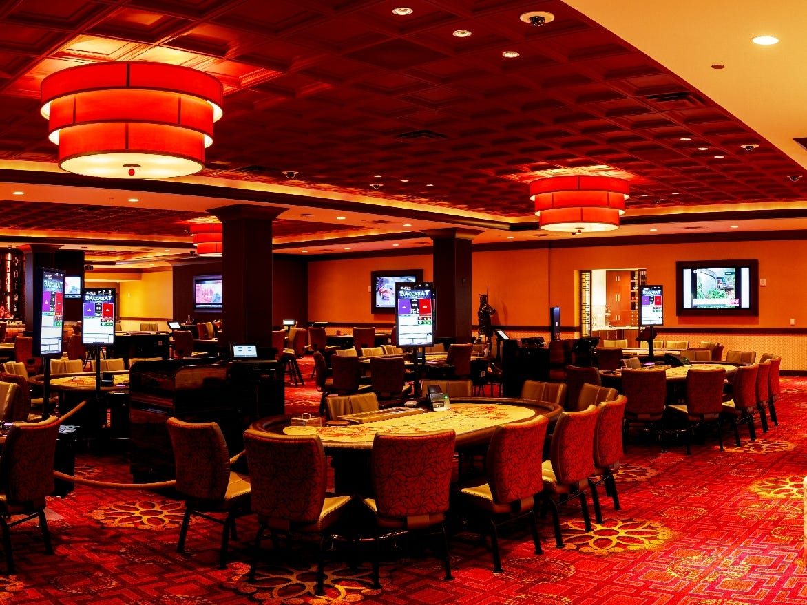 The high limit room at Morongo Casino Resort and Spa in Cabazon, Calif.