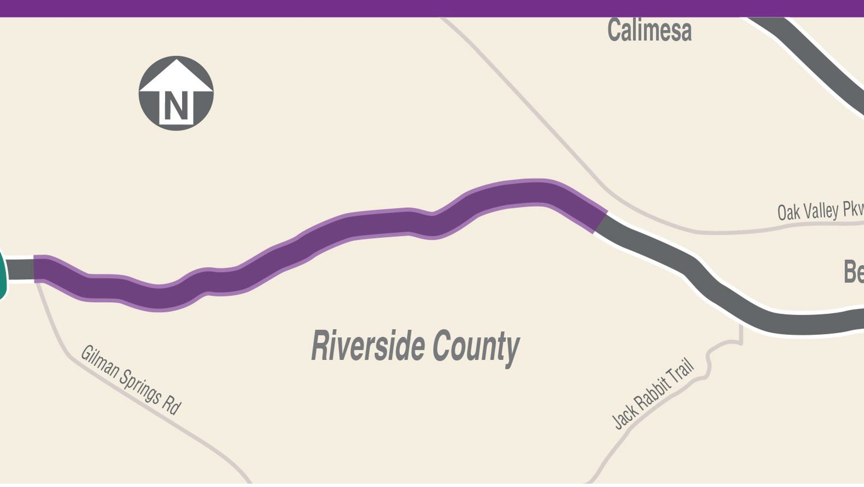 Truck lanes are coming to Highway 60's badlands, here are details