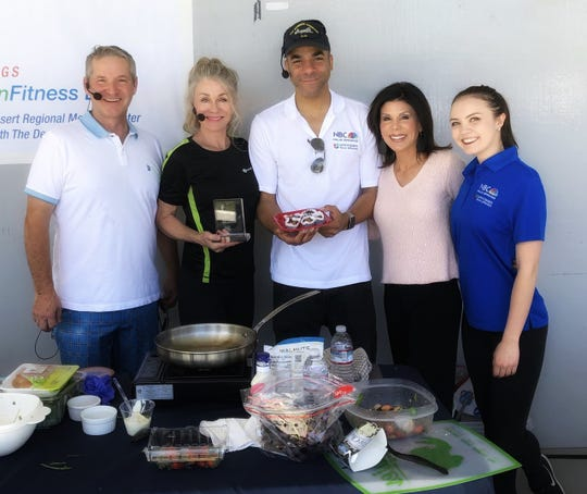 From left: Robert Morrison, Denise DuBarry-Hay, Bryan Gallo, Janet Zappala and Lauren Day