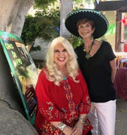 "VISIONARIES of Tools For Tomorrow ""Volunteer of  the Year"" award recipient C.J. Westrick-Bomar, left, with Cinco de Mayo Fiesta Co-Chair Terri Neuman."