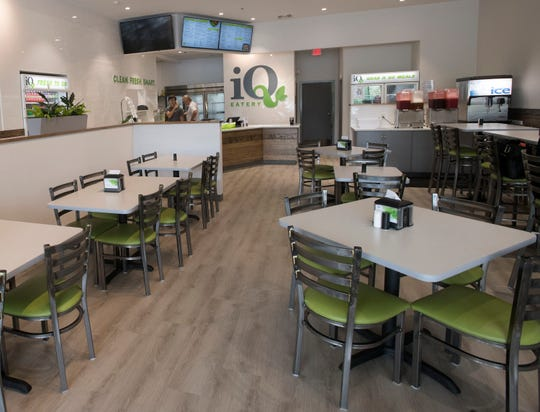 IQ Eatery, a new restaurant located on Barrancas Ave and offers diners a variety of clean and healthy menu options.