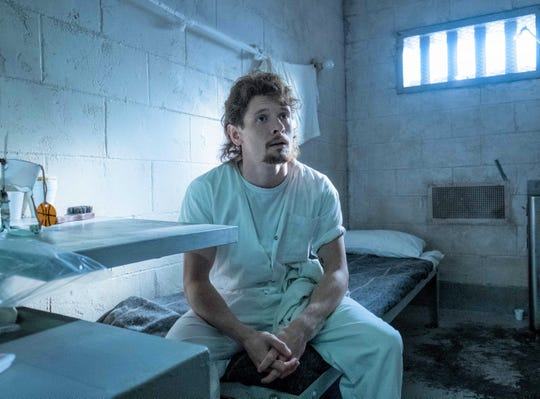 """Cameron (Jack O'Connell) has a history of domestic violence in """"Trial by Fire."""""""