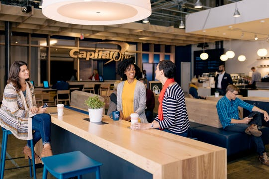 This stock image shows what the planned Capital One Café in Scottsdale might look  like.