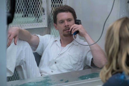 """In """"Trial by Fire,"""" Cameron (Jack O'Connell) is on death row."""