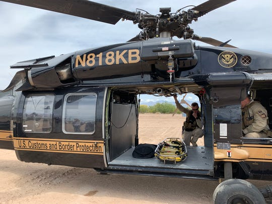 Agents with the Border Patrol's elite rescue group BORSTAR see an increase in rescues at the Arizona desert during the summer.