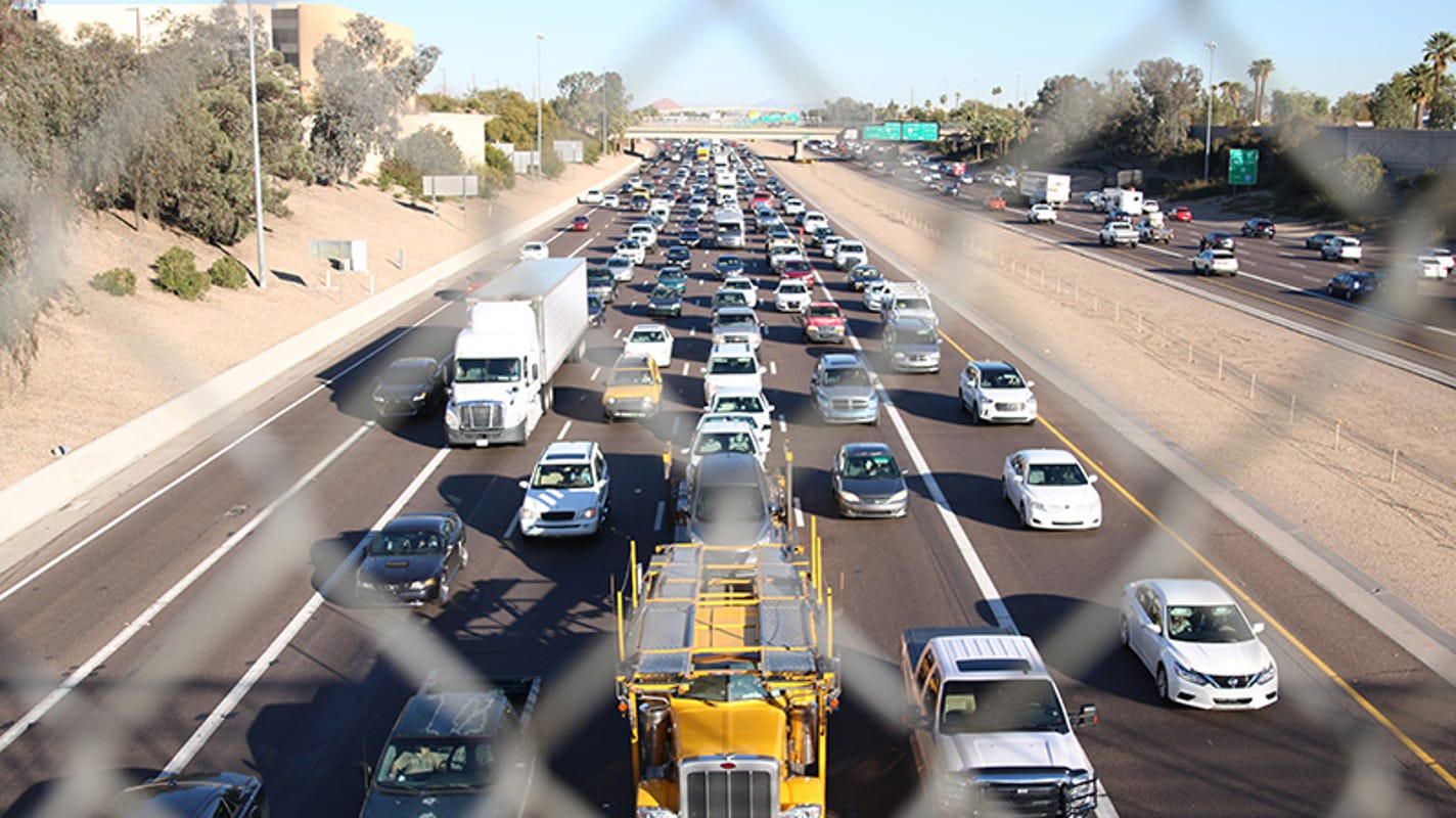 Weekend traffic: Eastbound Interstate 10 closure planned west of downtown Phoenix