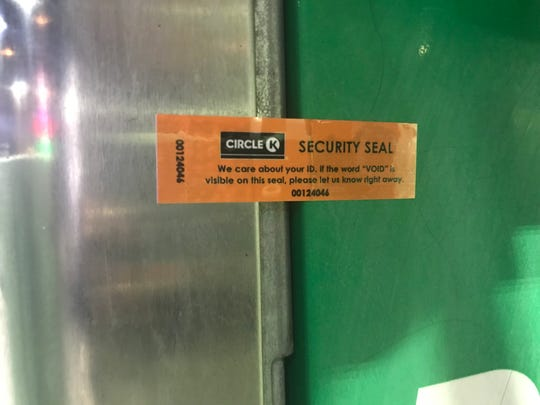 Circle K installed security seals on its gas pumps after The Arizona Republic revealed the chain was a favorite target for credit-card skimmers.