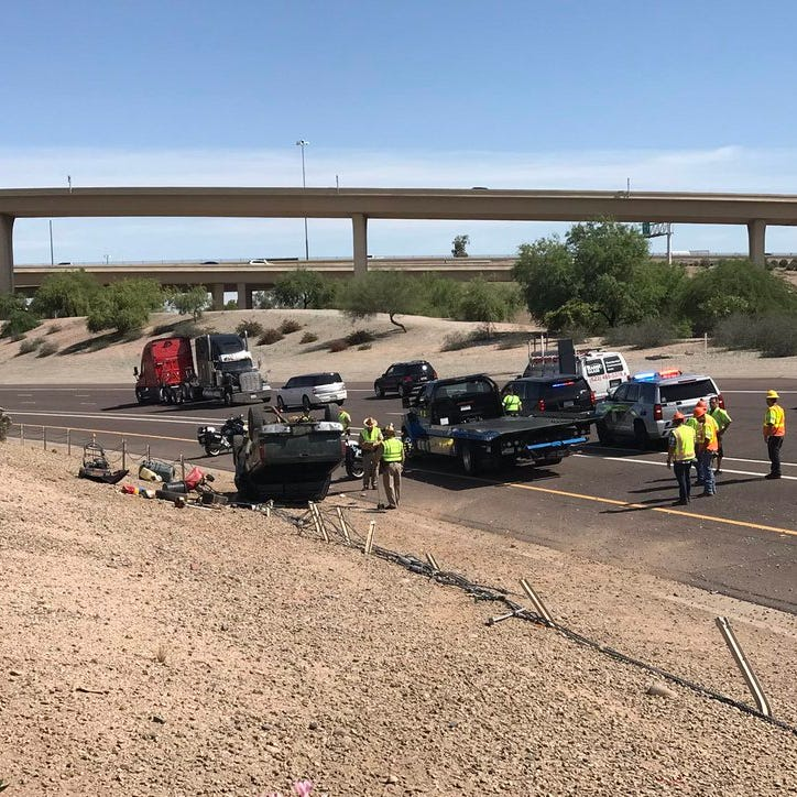 16-year-old killed in I-10 rollover had stolen family truck and had no license, DPS says