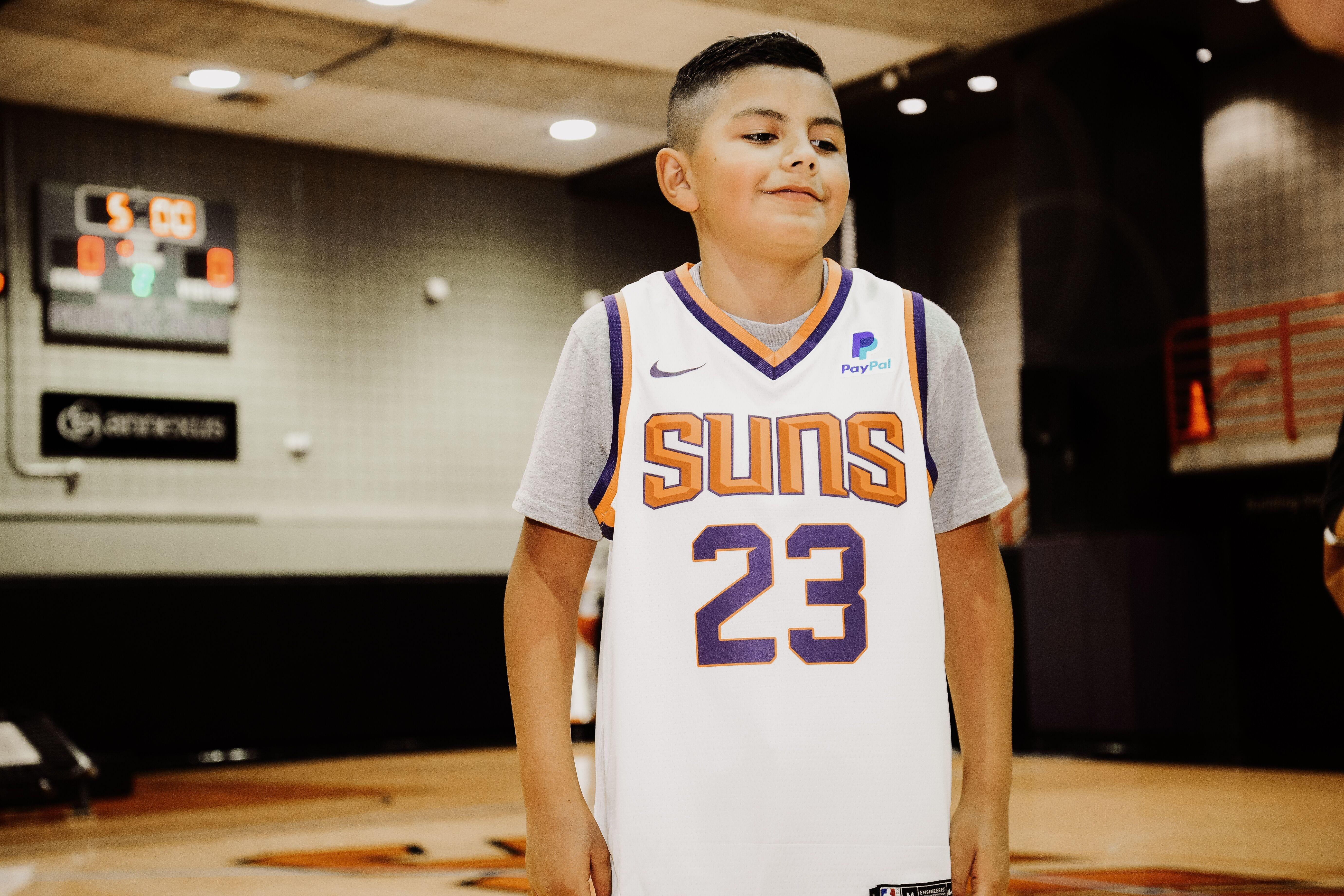 81b9472d90c9 Part 1  Phoenix Suns center Deandre Ayton surprises fan with invite to NBA  Draft Lottery