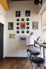The interior of The Rec Pizzeria in Peoria.