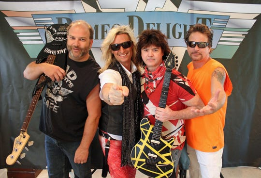 Romeo Delight, a Van Halen Tribute Band.