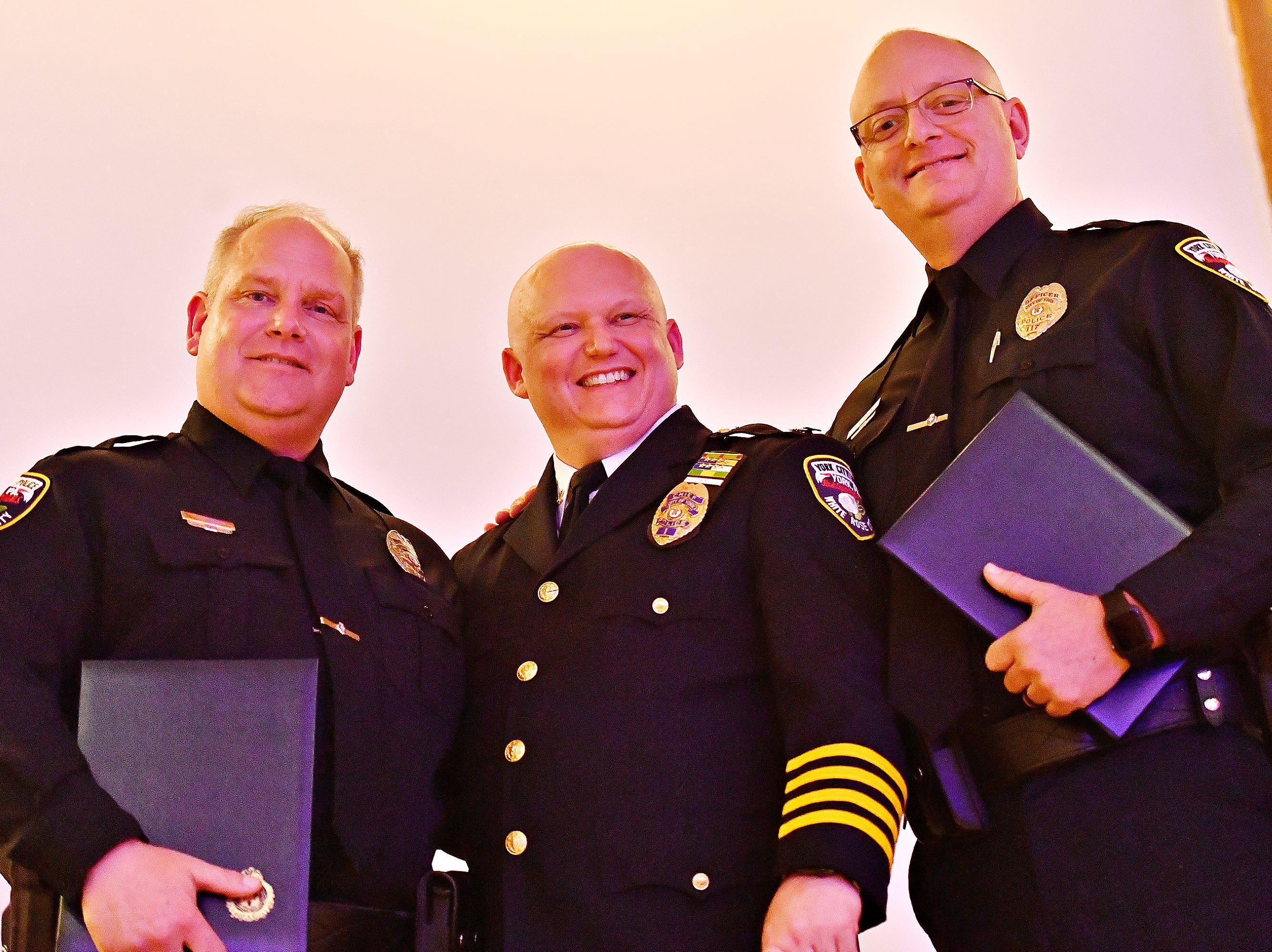 The York City Police Departmental Awards Ceremony at Valencia Ballroom in York City, Thursday, May 9, 2019. Dawn J. Sagert photo