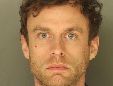 Scott Kapp, arrested for possession of drug paraphernalia.