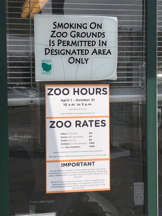 Andreatta: Seneca Park Zoo drops an endangered species — smokers