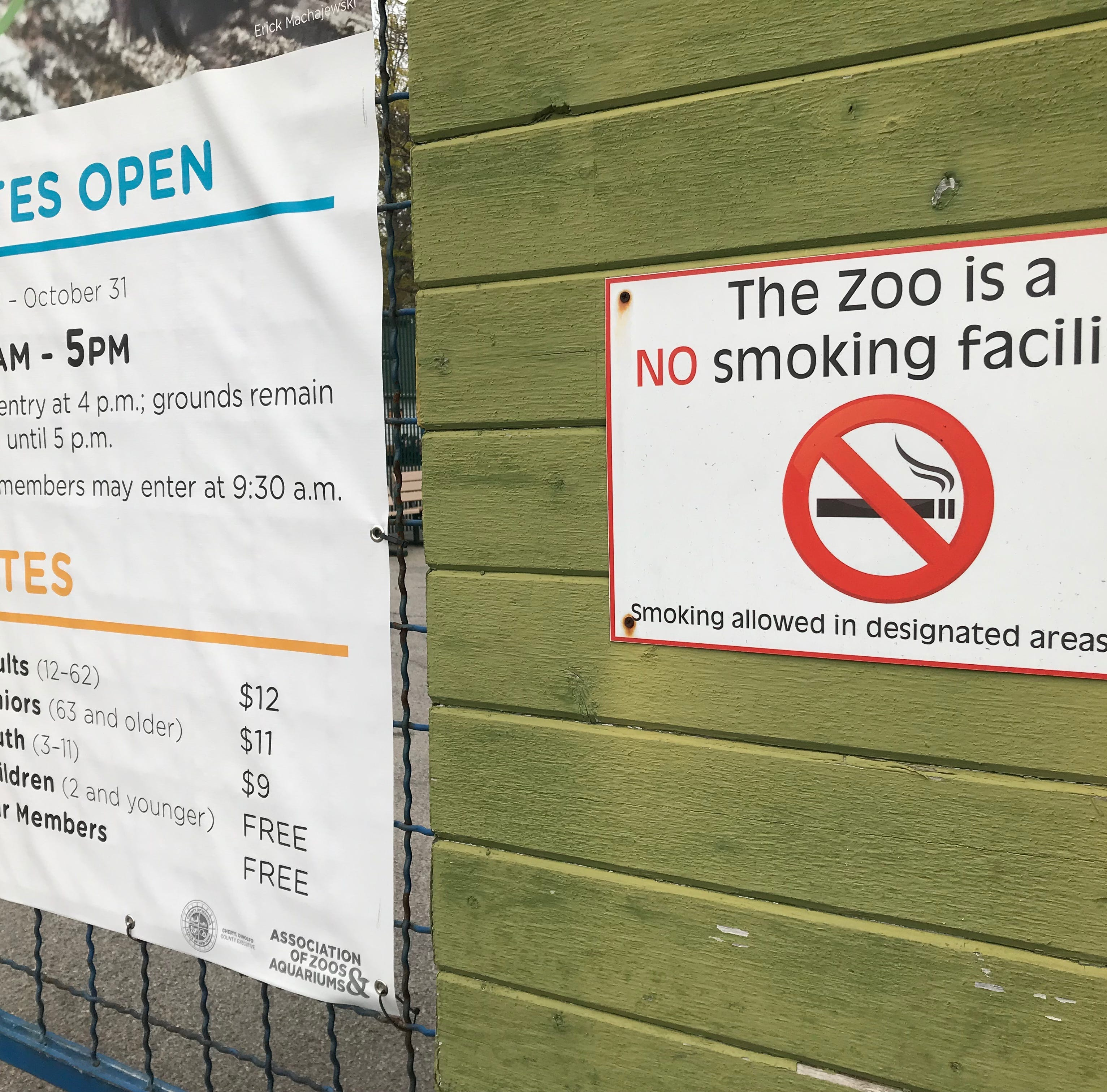 Andreatta: Seneca Park Zoo drops an endangered species —smokers