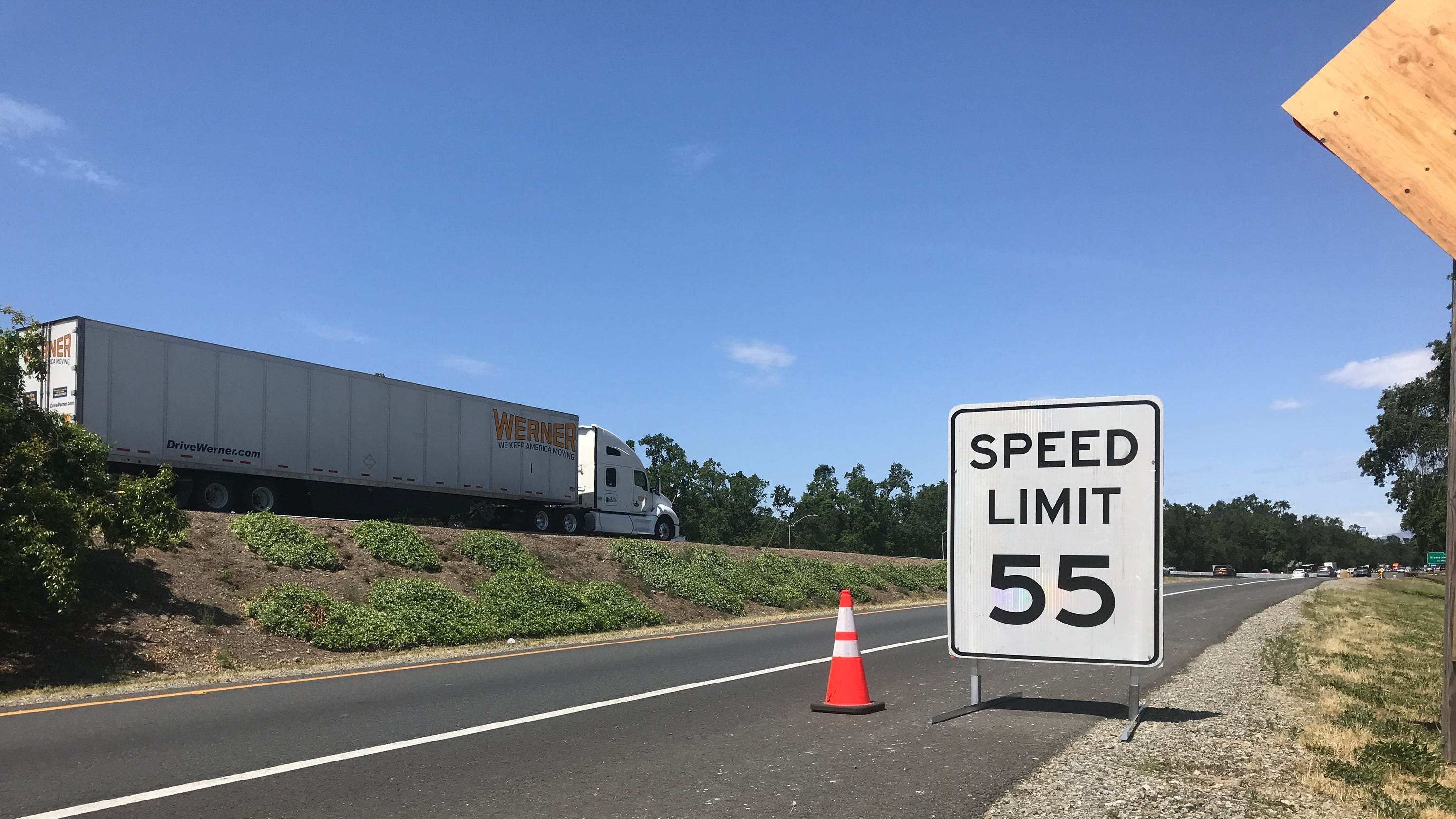 I-5 from Redding to Anderson will be widened  What you need