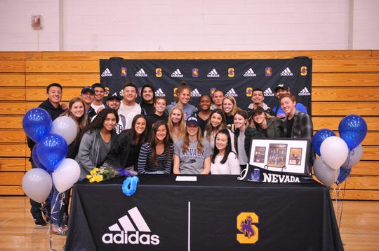 Savanna Maker is the second Salinas girls' volleyball player to commit to an NCAA Division I team in two years (Taylor Rose - Cal Poly).
