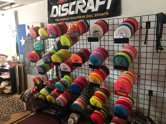 Cortese Flag & Silkscreen offers a wide assortment of disc golf supplies at 1602 W. Beauregard Ave. in San Angelo.