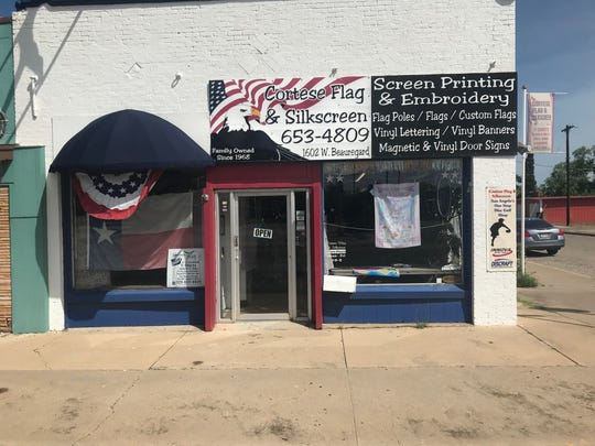 Cortese Flag & Silkscreen, 1602 W. Beauregard Ave, has been serving San Angelo since 1968.