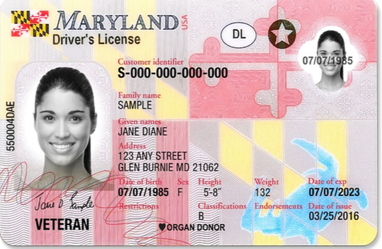Will In Maryland Licenses Id Driver's Prompt Some Of June Real Recall