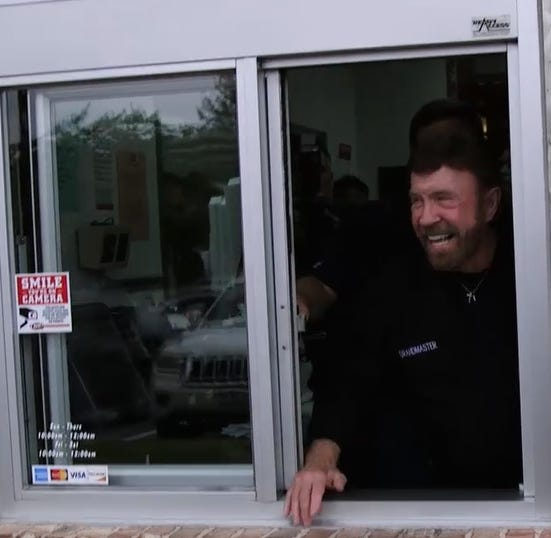 Raising Cane's joins forces with Chuck Norris