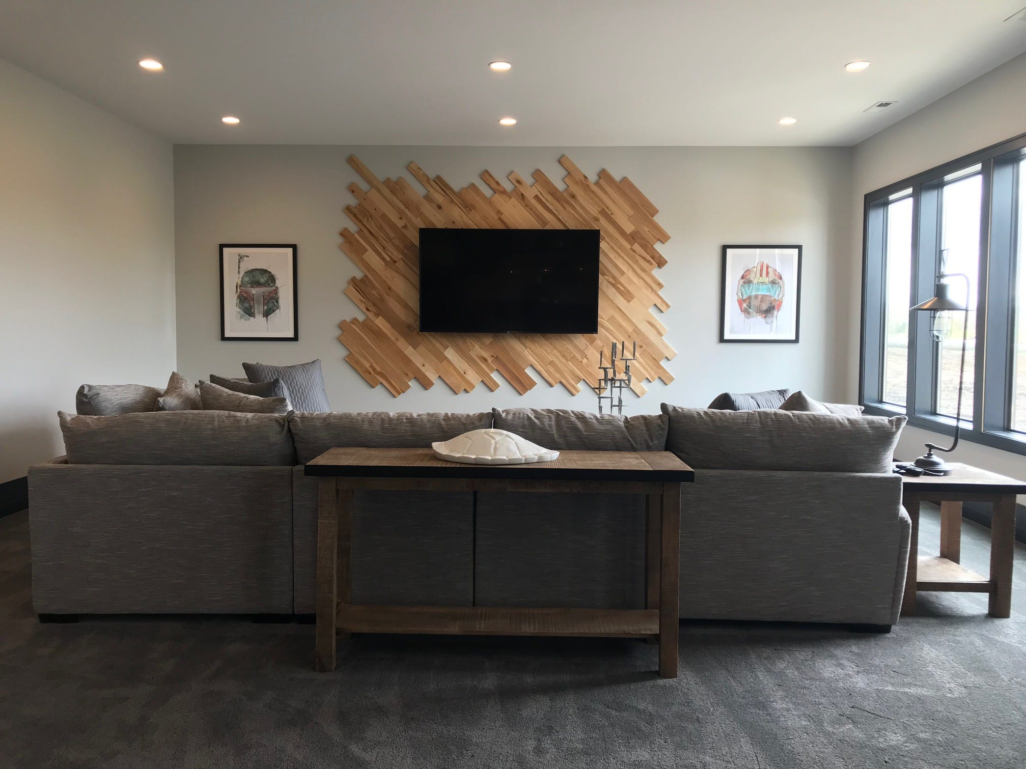 This 6,415-square-foot home at 909 S. Torrey Pine Lane is a feature home on the Sioux Empire Home Builder Association's 2019 Spring Parade of Homes. The 5-bed, 4 bath homewas built by Trademark Homes Inc.
