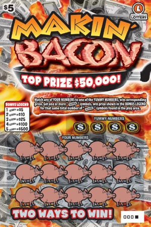 A Makin' Bacon ticket