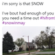 Twitter reacts to May snowfall in Sioux Falls
